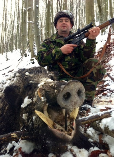 Wild Boar Hunting - Romania